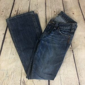 Silver Jeans Twisted Low Rise Bootcut 26x33